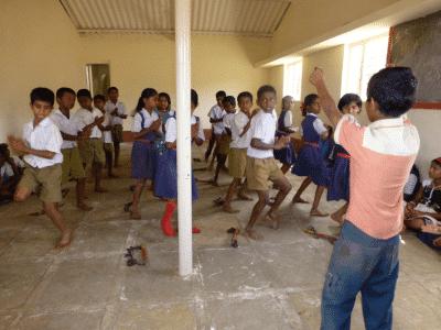 Tryamboli Vidyalaya classroom
